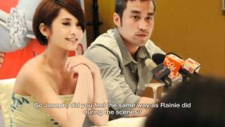 While We Were Drunk press conference with Rainie Yang and Joseph Chang