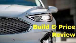2019 Ford Fusion SE AWD - Build & Price Review: Design, Performance, Technology, Smart