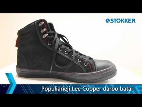 6a30e9377708 Apsauginiai darbo batai Lee Cooper 022 SB - YouTube
