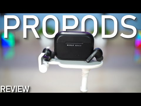 Boult Audio AirBass Propods - Airpods alternative? (Review)