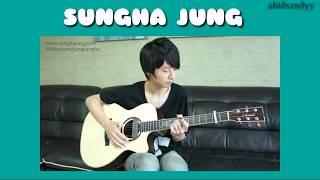 vuclip pemain gitar akustik terbaik di dunia (skill dewa) SUNGHA JUNG!!