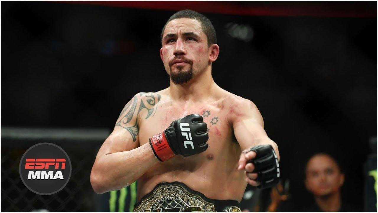 Robert Whittaker relives biggest fights before facing Kelvin Gastelum | UFC Film Room | ESPN MMA