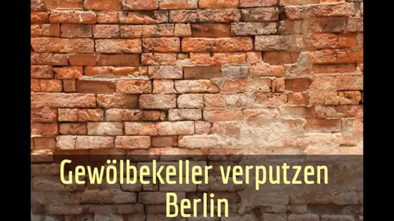 Gewölbekeller sanieren  Gewölbekeller verputzen Berlin - YouTube