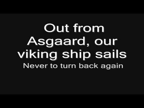 Sabaton - Swedish Pagans (lyrics) HD