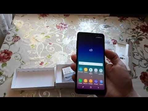 Распаковка Samsung Galaxy A8. Стоит ли покупать в 2019?