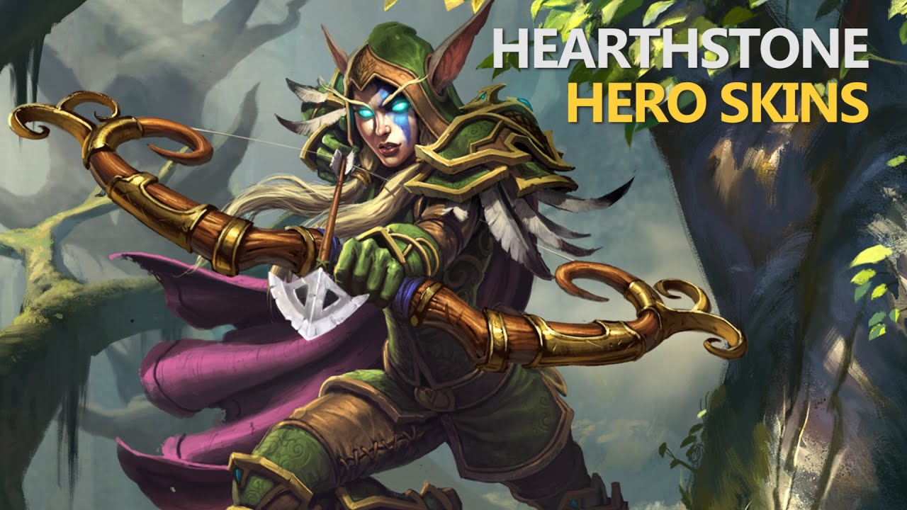 how to change hero skin in hearthstone