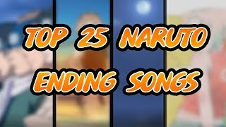 Top 25 Ending Songs from Naruto and Naruto Shippuden