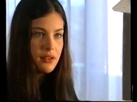 19 Years old Liv Tyler - interview for UK TV, 1996