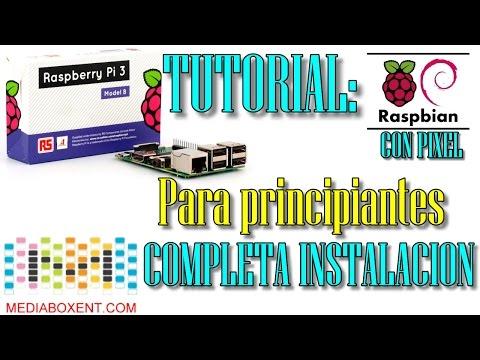 😀 Raspberry Pi 3 Instalación completa para principiantes: Guía de inicio con Raspberry PI
