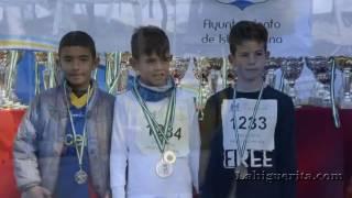 Entrega de trofeos del XIX Cross pinares de Isla Cristina