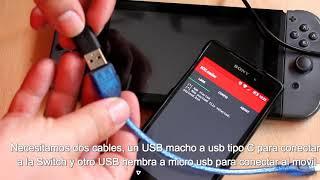 Cargar PAYLOADS en Nintendo Switch desde Android entrando en modo RCM