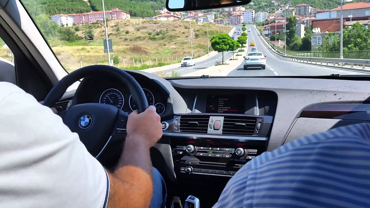 bmw f25 x3 sdrive2.0İ test ( 1.6 turbo 170 hp) - youtube