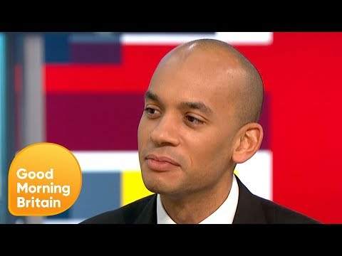 """Chuka Umunna: """"I Am Not Leaving the Field, I'm Not Going Anywhere""""   Good Morning Britain"""