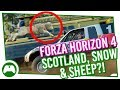 Forza Horizon 4 | Scotland, Snow & Sheep?!