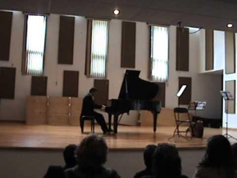 "Joaquín Turina - Danza Fantástica N° 2 ""Ensueño"" - Carlos Marín Trigo (Piano)"