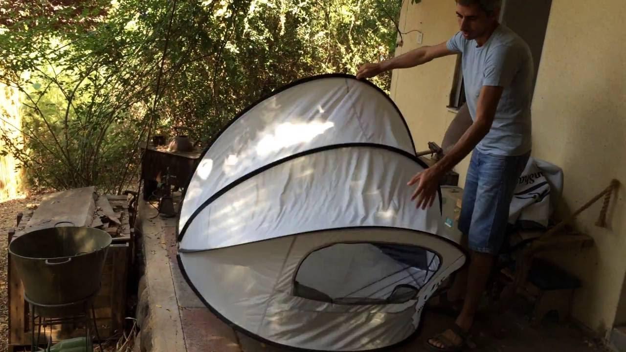 sale retailer 9331b de428 SunShack Pop Up Sun Shelter Folding Instructions