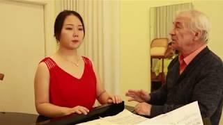 Фрагменты вокальных уроков Евгения Белова