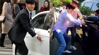 ประตูรถ และ เอสเจ ไม่ธรรมด๊าา - Super Junior