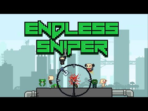 Official Endless Sniper (by By Daniel Abdel-Nour) Launch Trailer iOS /  Android
