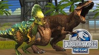 Jurassic World: Das Spiel #44 - Der T-REX 2.GEN SCHLÜPFT & der STUFE 40 PACHY! | LP JW Deutsch