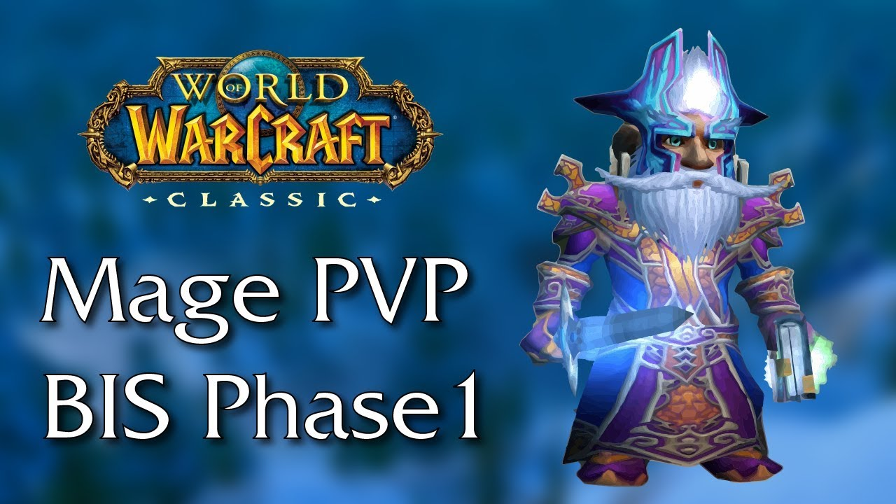 Mage PvP Gear Guide | Classic WoW Phase 1 | PreRaid / Raid BIS