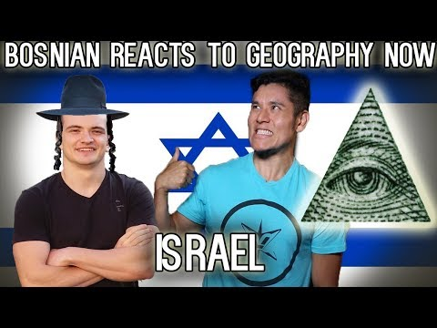 Bosnian reacts to Geography Now - Israel