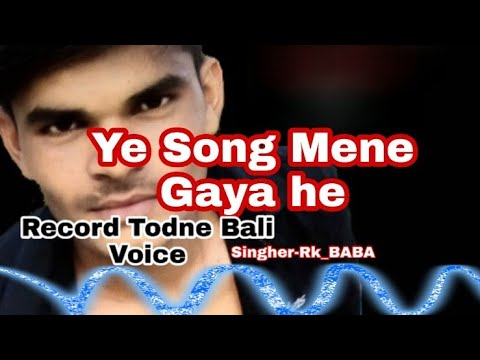 Mumtaj Bewafa (Song)By Cover Short Mp3 Singer-Rk_BABA[RK BABA STUDIO]
