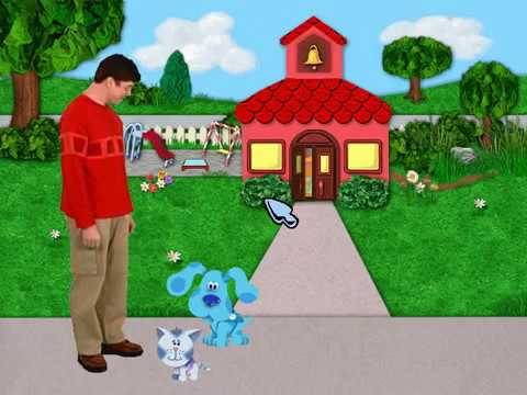 Blue's Clues: Blue Takes You to School (PC Game)
