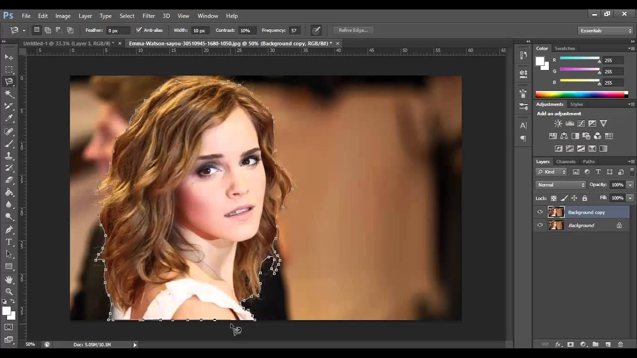 Photoshop CS6 - Copy and Paste Objects Into Another Picture