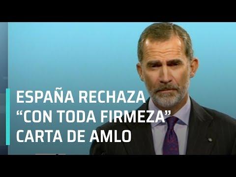 España rechaza carta de AMLO donde pide disculpas por la Conquista  - Las Noticias