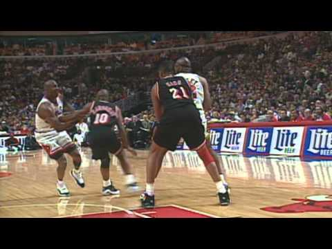 1996 Chicago Bulls 44th Straight Home Win