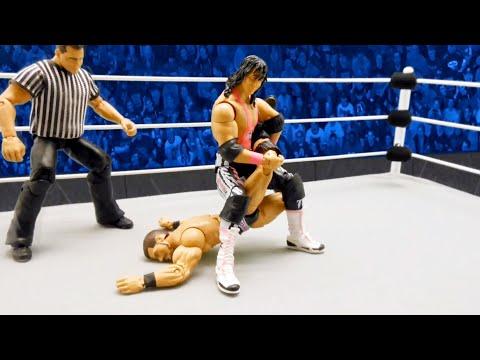 """Bret """"Hit Man"""" Hart vs. Bobby Roode: Action Figure Showdown"""