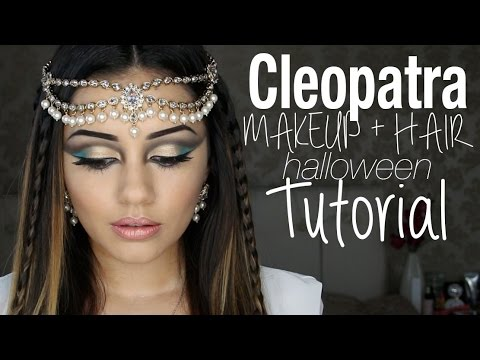 tutorial-|-cleopatra-inspired-makeup-hair-|-kaushal-beauty