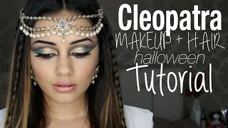 Tutorial | Cleopatra Inspired Makeup + Hair | Kaushal Beauty Thumbnail