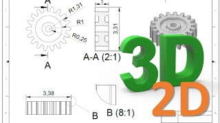 How to convert 3D to 2D drawing in AutoCAD