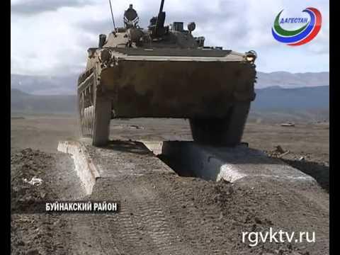 В Буйнакске на полигоне «Дальний» прошла подготовка к танковому биатлону