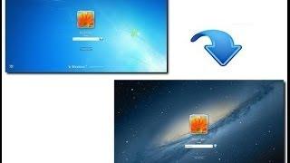 Как изменить стартовую заставку в Windows 7