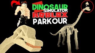 Dinosaur Simulator (Roblox) - Halloween Trading Parkour, JUMPSCARE! | (#127) (Gameplay)