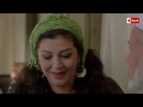 مسلسل حارة اليهود - ملامح خجل العروسين تعرف الطريق إلي أي وجه يمر بتلك اللحظة