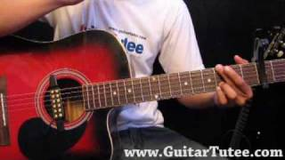 Miley Cyrus -  I Hope You Find It, by www.GuitarTutee.com