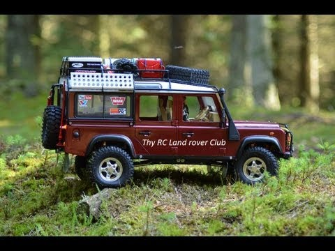 rc land rover scale adventure water trial youtube. Black Bedroom Furniture Sets. Home Design Ideas