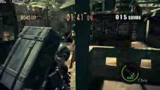 RE5 Mercenaries Reunion SOLO PA - Chris Heavy Metal - First SS Rank [NO TIME BONUS]
