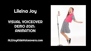Lileina Joy: 2021 Visual Voiceover Demo - Animation
