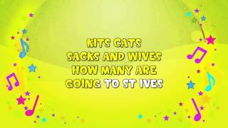 As I Was Going to St Ives | Karaoke | Counting Puzzle | Nursery Rhyme | KiddieOK