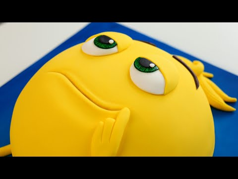 Meh it's an EMOJI Movie CAKE! 😐