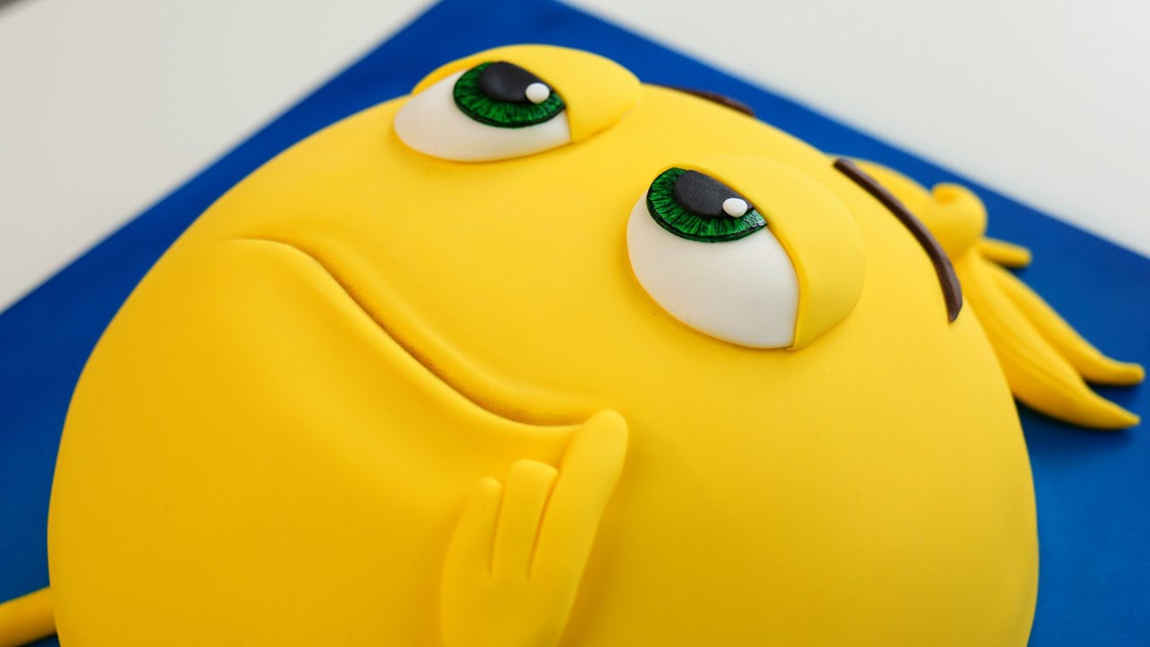 Meh Its An EMOJI Movie CAKE
