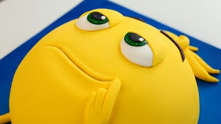Meh it's an EMOJI Movie CAKE! 😐