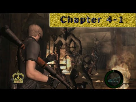 Resident Evil 4 Chater 4-1 [No commentary] PS2