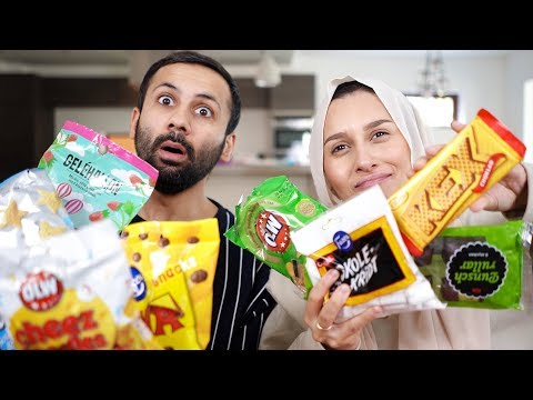 Trying SWEDISH Snacks | Taste Test!!