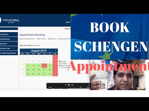 How To Book Schengen Visa Application Appointment In VFS GLOBAL For BIOMETRICS And DOCUMENTS SUBMIT